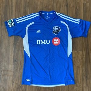 Montreal Impact MLS Youth Blue Replica Jersey